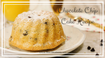 Chocolate Chip Cake Recipe | This Chocolate Chip Cake Recipe is a Favorite in my family it is so delicious and super moist. This cake is such a treat! The Chocolate chip cake is a white cake with chocolate chips throughout. For an extra chocolate presence, I'll show you how to make the chocolate drip to adorn the top and sides of the cake. | https://thecakeway.com/chocolate-chip-cake-recipe