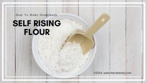 Homemade Self Rising Flour