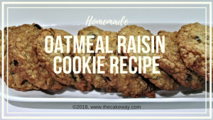 Oatmeal Raisin Cookie Recipe