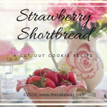 Strawberry Shortbread Cookies