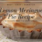 Easy Homemade Lemon Meringue Pie Recipe
