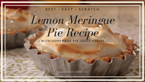 Easy Homemade Lemon Meringue Pie Recipe