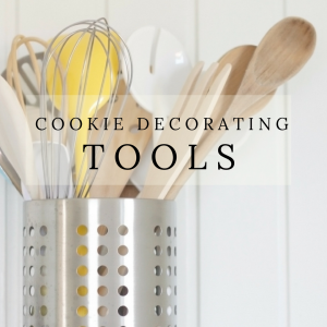 Cookie Decorating Tools by The Cake Way