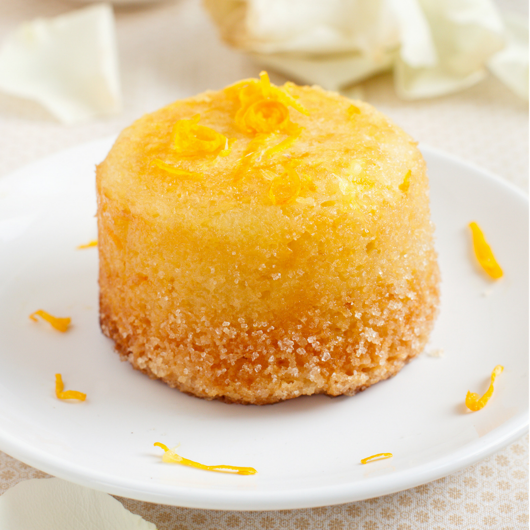 Orange Juice Infused Angel Food Cake Recipe