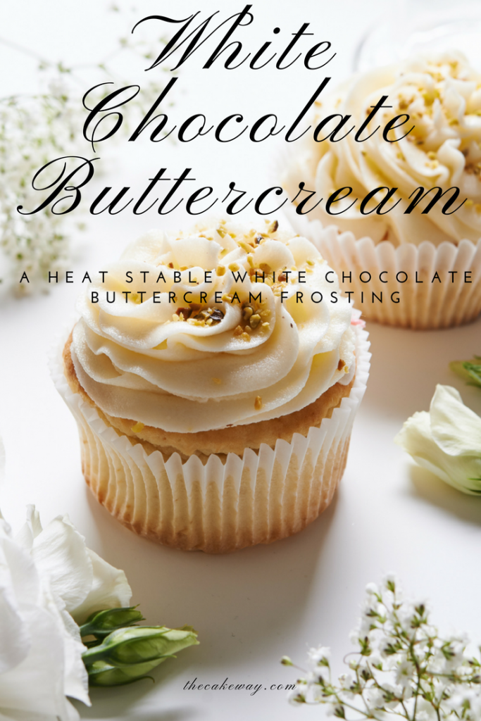 Stablized White Chocolate Buttercream Frosting