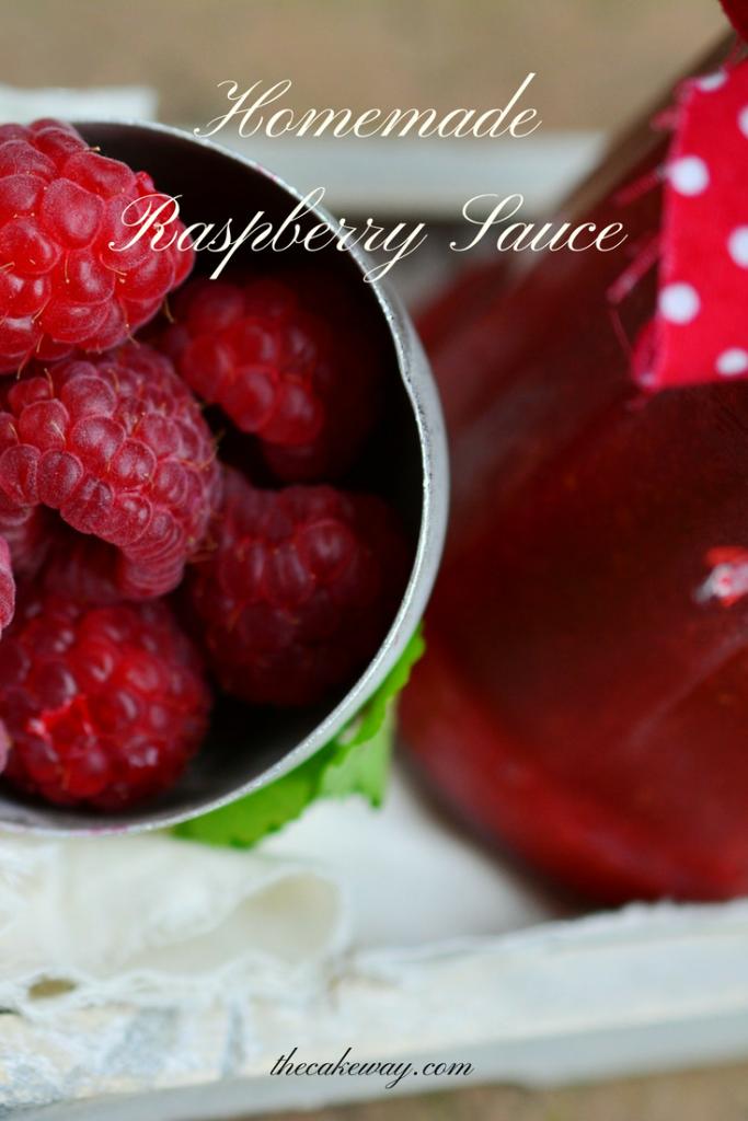 raspberry sauce-thecakeway.com