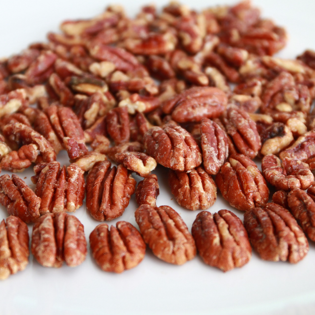Homemade Candied Pecans by The Cake Way