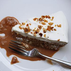 Maple Pecan Chiffon Cake