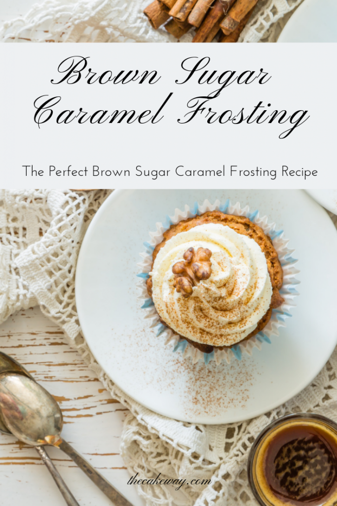 Brown Sugar Frosting Recipe by The Cake Way