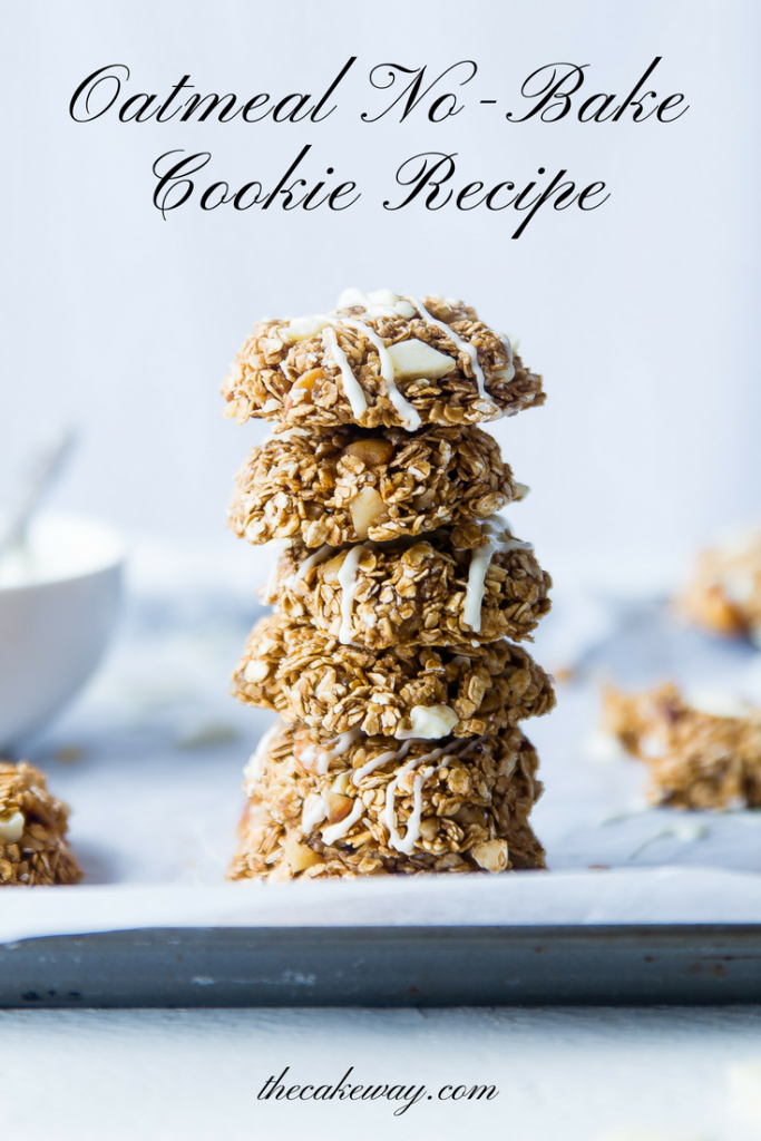 no bake cookies by The Cake Way