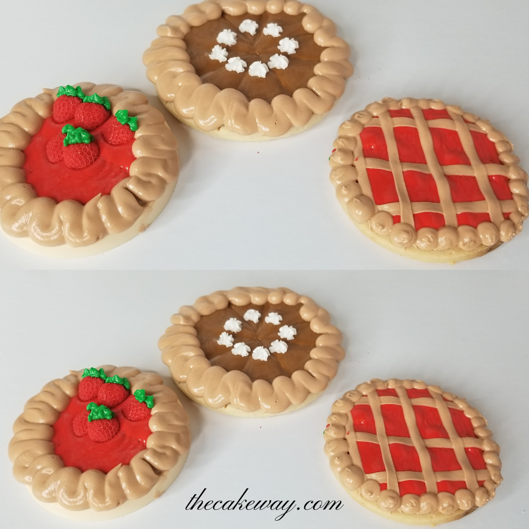 Pie Cookies by The CakeWay