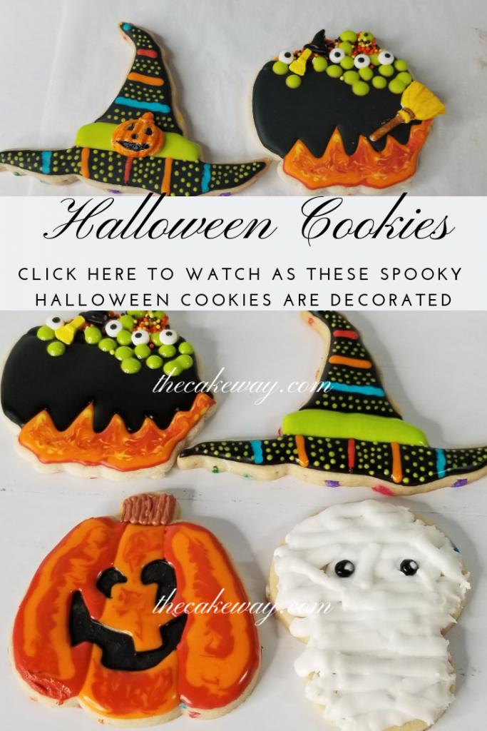 Halloween Cookies - Live Video Cookie Decorating