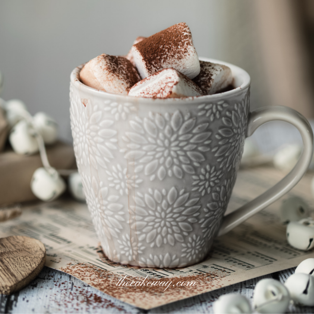 Crockpot Hot Chocolate by the CakeWay