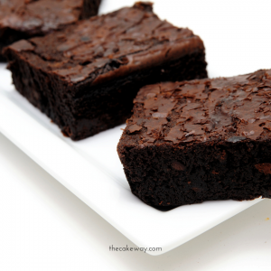 Homemade Double Chocolate Brownie Recipe