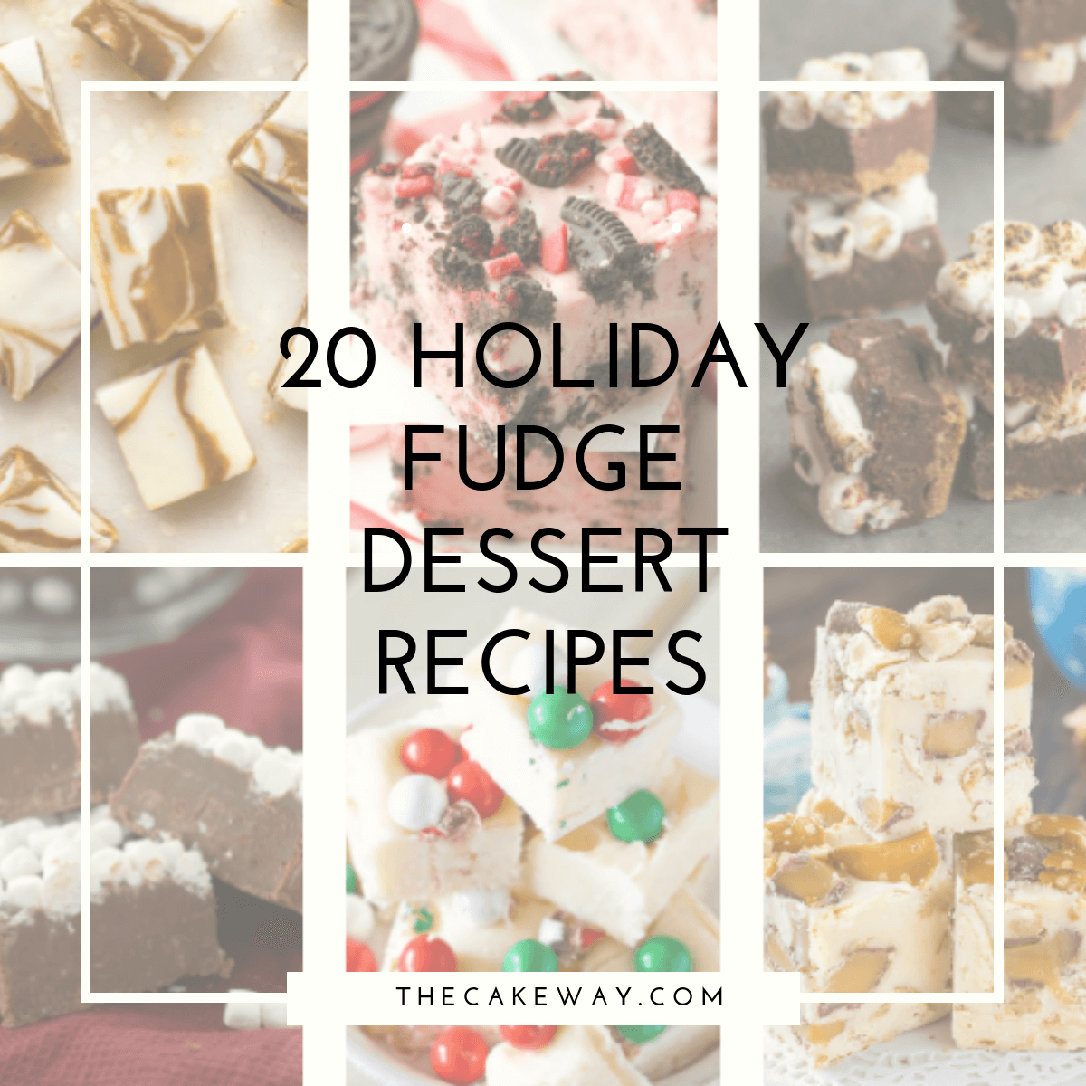 20 Holiday Fudge Dessert Recipes