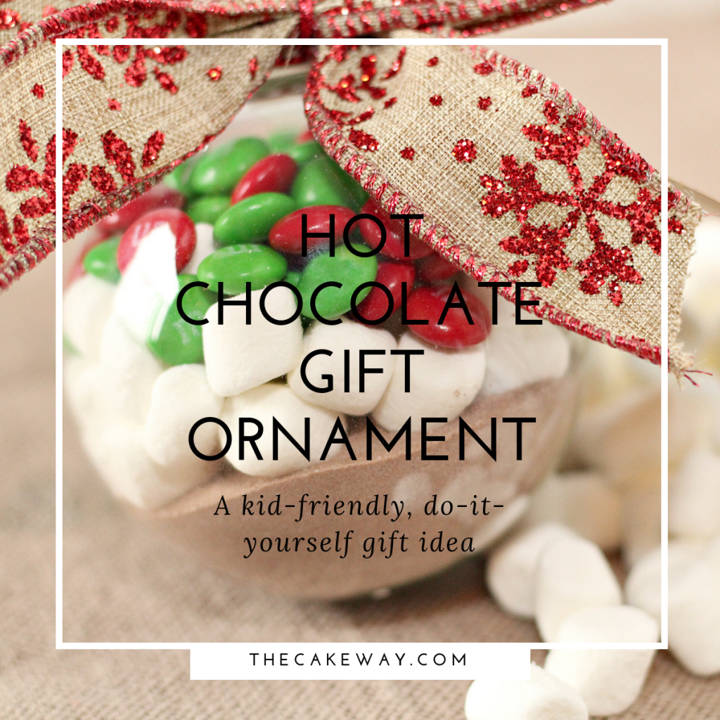 Hot Chocolate Ornament | http://thecakeway.com/hot-chocolate-ornament-gift