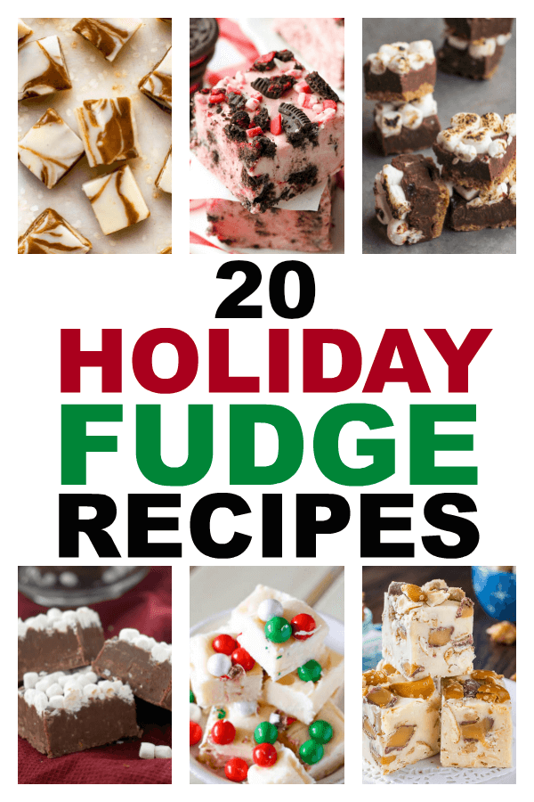 20 Holiday Fudge Dessert Recipes | https://thecakeway.com/20-holiday-fudge-dessert-recipes/