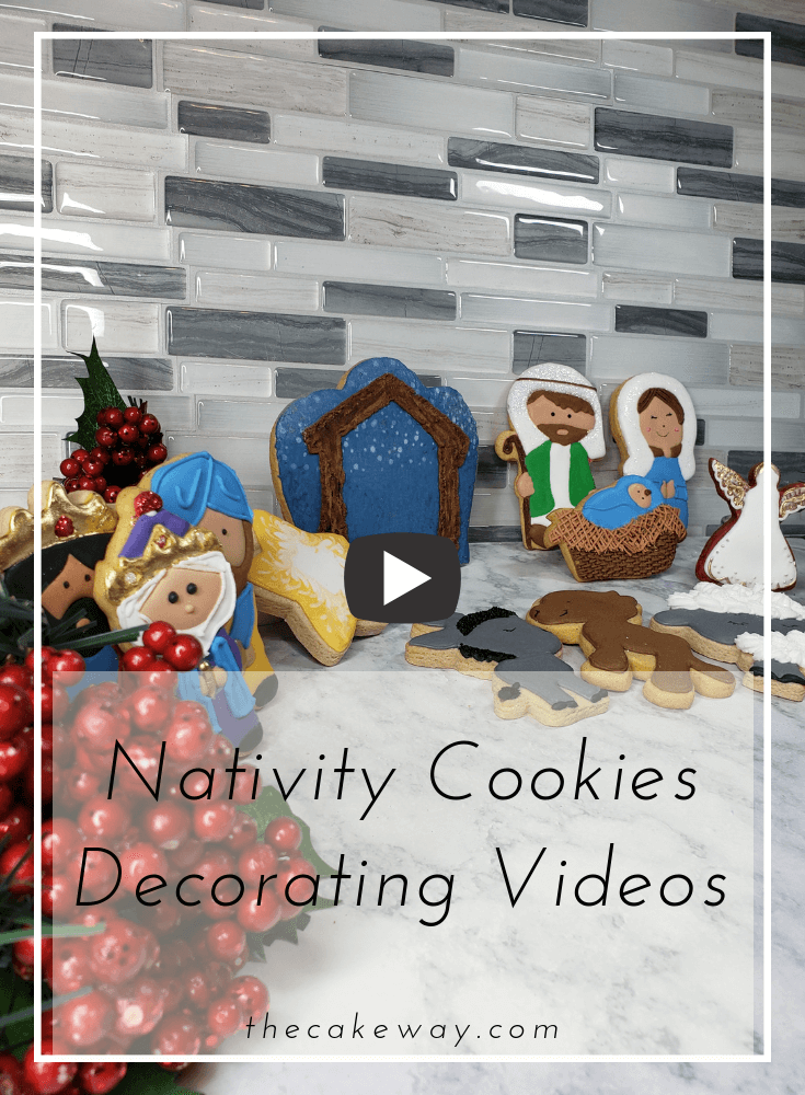 Nativity Cookie Decorating The Cake Way