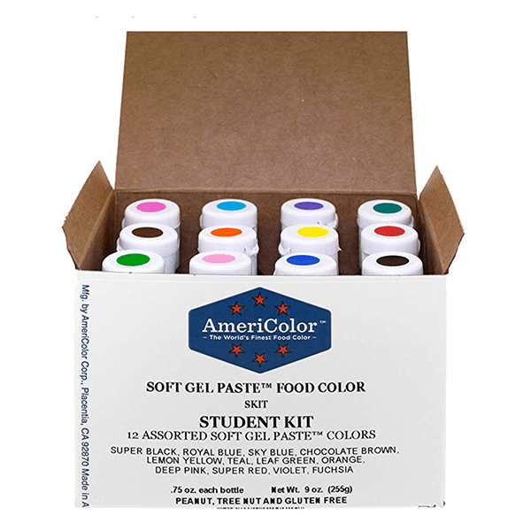 Americolor Gel Food Colors • The Cake Way