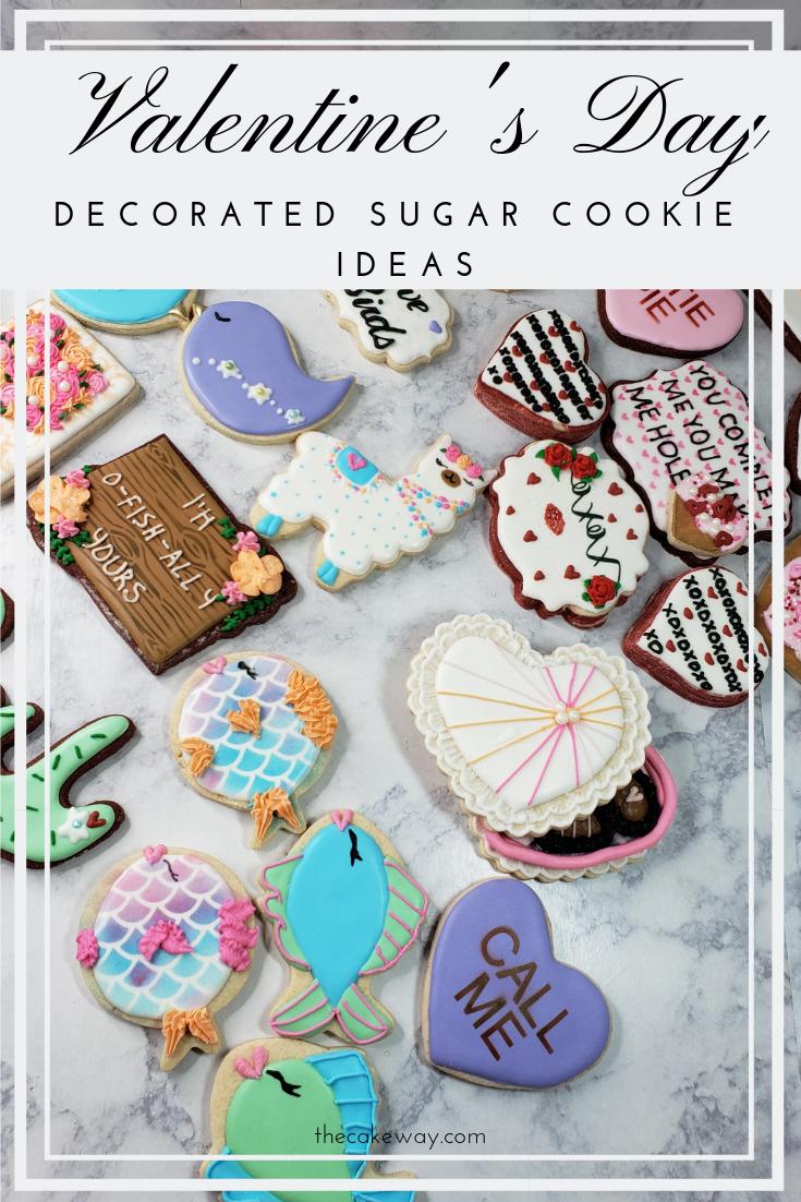 Cookie Decorating Ideas Valentine | https://thecakeway.com/cookie-decorating-ideas-valentine/