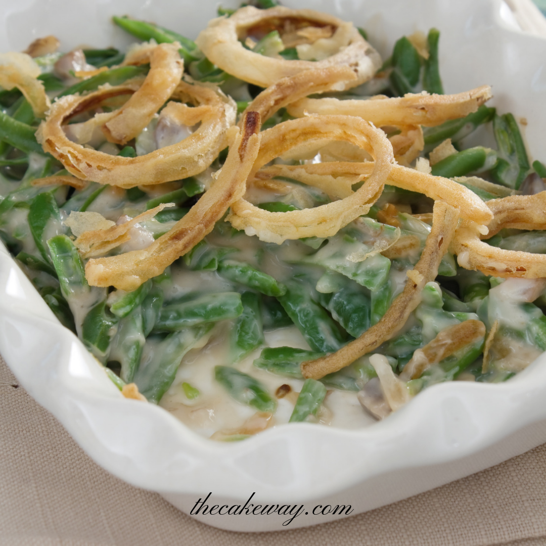 Easy Green Bean Casserole-Subscriber