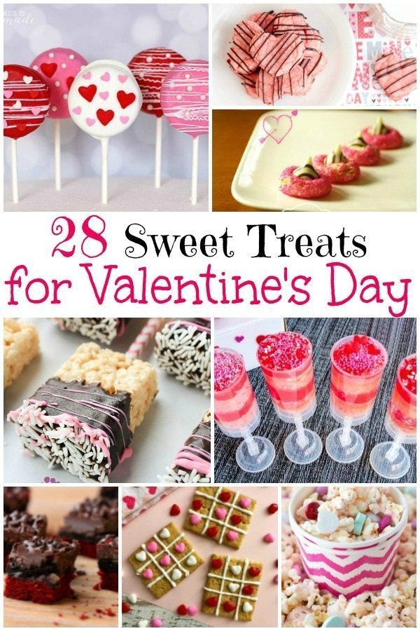 28 Sweet Treats for Valentine's Day | https://thecakeway.com/28-sweet-treats-for-valentine's-day/