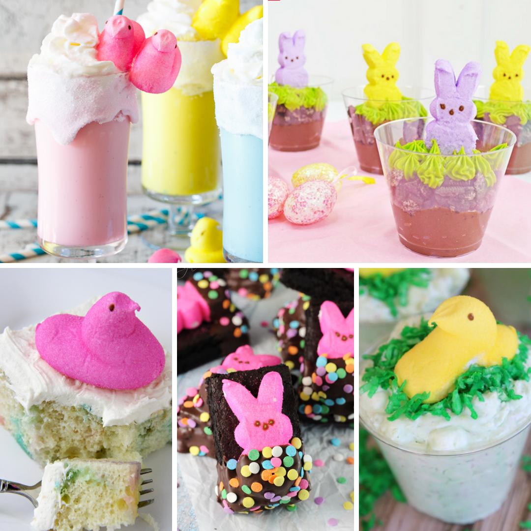 20 Peeps Inspired Easter Dessert Recipes