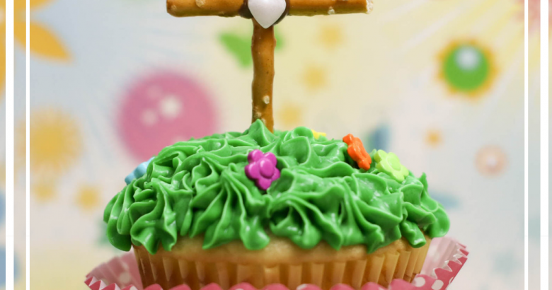 Cross Cupcakes | https://thecakeway.com/cross-cupcakes/