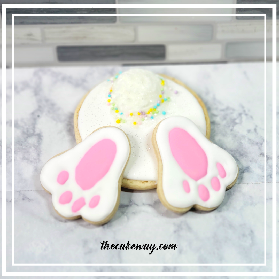Bunny Bottom Cookies | https://thecakeway.com/bunny-bottom-cookies